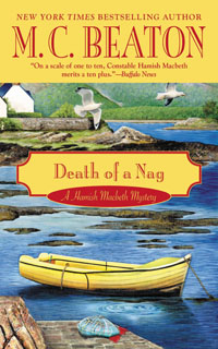 Cover of Death of a Nag by M.C. Beaton