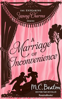 Cover of A Marriage of Inconvenience by Marion Chesney