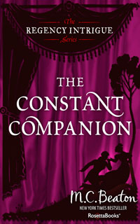 Cover of The Constant Companion by Marion Chesney