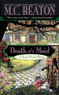 Cover of Death of a Maid by M.C. Beaton