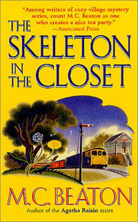 Cover of The Skeleton in the Closet by M.C. Beaton