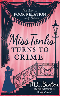 Cover of Miss Tonks Turns to Crime by Marion Chesney