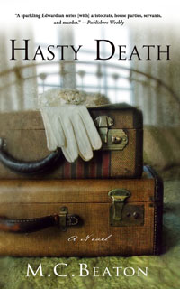 Cover of Hasty Death by Marion Chesney