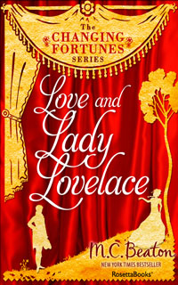 Cover of Love and Lady Lovelace by Marion Chesney
