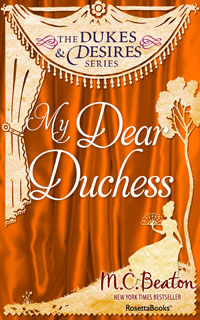 Cover of My Dear Duchess by Marion Chesney