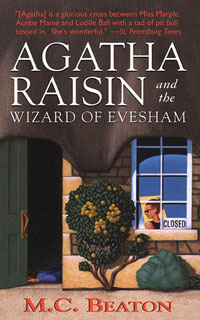 Cover of The Wizard of Evesham by M.C. Beaton