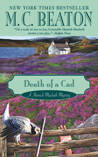 Cover of Death of a Cad by M.C. Beaton