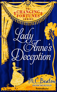 Cover of Lady Anne's Deception by Marion Chesney