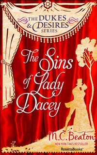 Cover of The Sins of Lady Dacey by Marion Chesney