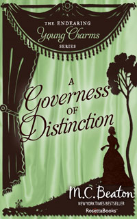 Cover of A Governess of Distinction by Marion Chesney